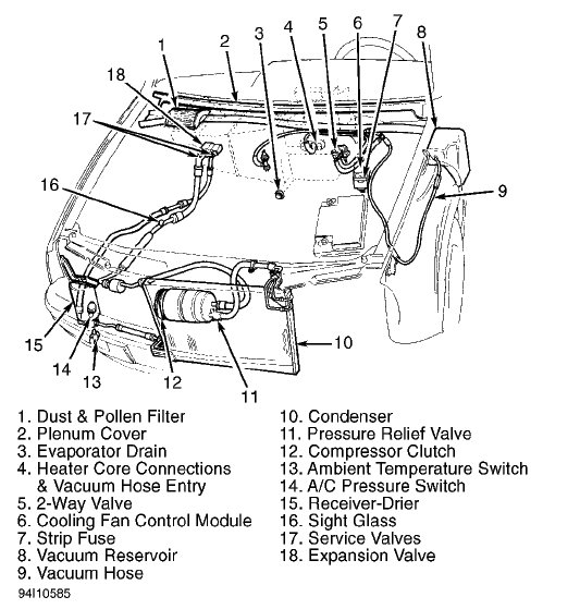 Gmc jimmy parts as well Water Leaking In Car also Engines Below Schematic Depicts The 2006 Gmc Yukon Radiator Diagram together with 2000 Gmc Sonoma Radiator Diagram also T20489987 1998 2 2l 4 cyl 2wd s10 wont go into. on 2003 chevy silverado radiator drain plug