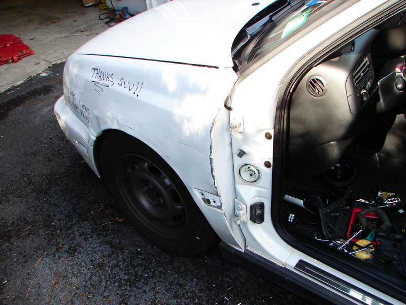 & How to replace a door on a MKIII