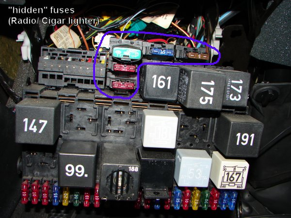 For A 1995 Vw Jetta Fuse Diagram