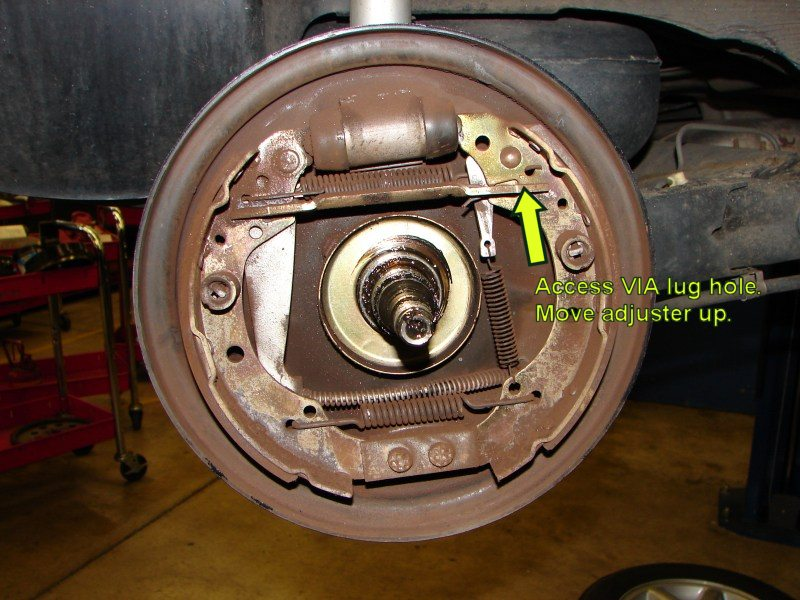 1990 Vw Jetta Rear Drum Rear Brakes Are Out Of