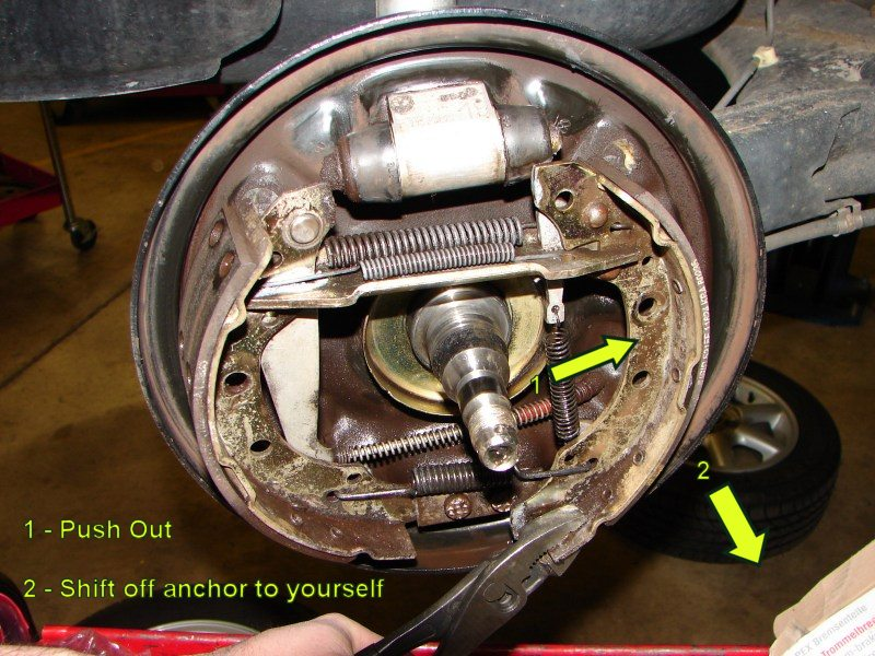 Vwvortex Com Golf Jetta Rear Drum Brake Diy Repair