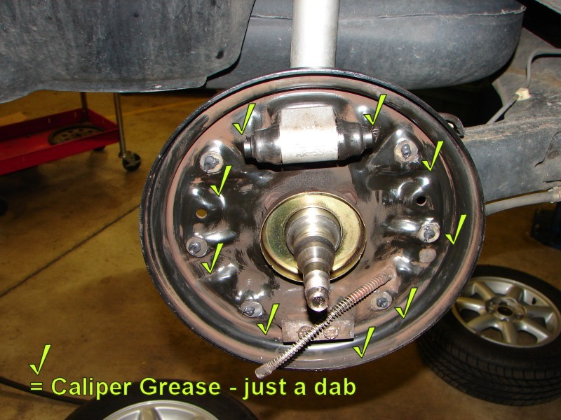 Golf Jetta Rear Drum Brake Diy